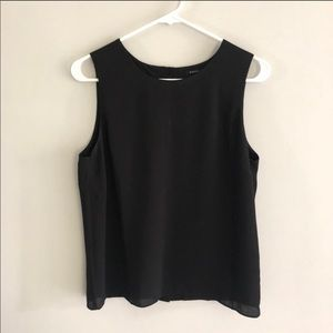 Business Tank Top with Button Down Back